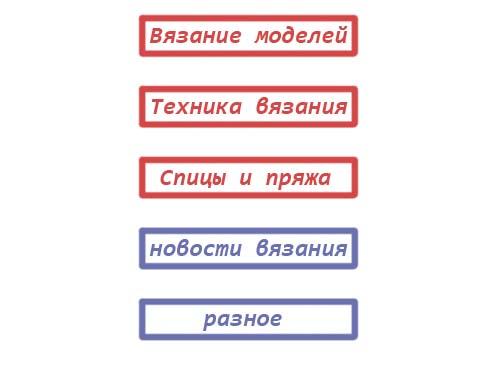 структура сайта пример